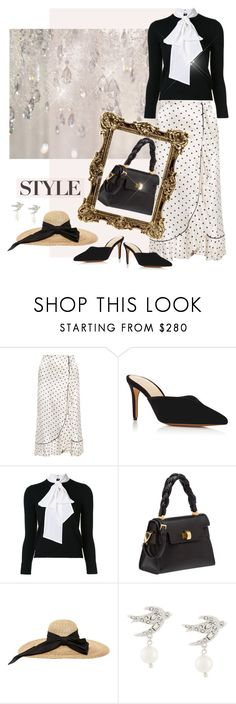 """White Satin"" by jacque-reid ❤ liked on Polyvore featuring Ganni, Alexandre Birman, Alice + Olivia, Miu Miu, Kreisi Couture, aliceandolivia, miumiu, Kreisi, GANNILeclair and AlexandreBriman"