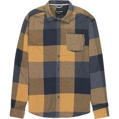 Ocean Current Summits Dbur Bold Plaid Flannel Shirt ($40) ❤ liked on Polyvore featuring men's fashion, men's clothing, men's shirts, men's casual shirts, mens plaid shirts, mens flannel shirts, mens tartan shirt and mens flannel plaid shirts