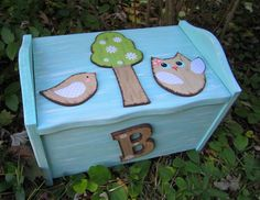 Brooke Owl Toy Box Chest Footstool & Seat  by BirchTreeKids, $129.99