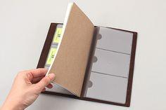 Midori Traveler's Notebook Accessories - Card File - Regular Size - MIDORI 14301-006
