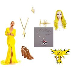 Zapdos cosplay idea by katie-lutz on Polyvore featuring Bamboo, Bling Jewelry and Dogeared