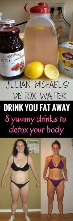 Lose weight by drinking - 8 yummy drinks to detox your body