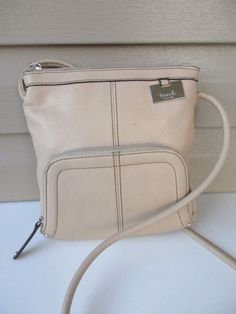 c27089f522 Tignanello shoulder bag cross body Cream Leather Organizer  Tignanello   ShoulderBag Cross Body