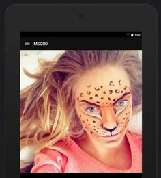 MSQRD, la entretenida app iOS para agregar máscaras animadas a los selfies, ahora en Android!