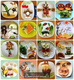 Детский день рождения украшение стола, оформление блюд на детский день рождения (2)