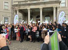 The Education in Ireland Student Ambassadors at Farmleigh!!!