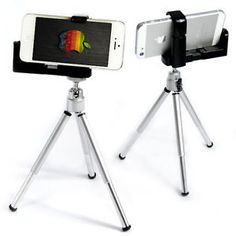 Universal Cell Phone Camera Stand Tripod Holder Mount For iPhone Galaxy Apple Iphone 5, Iphone6, Phone Holder, Tripod, Youtube, Ideas, Thoughts, Youtubers, Youtube Movies
