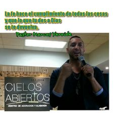 #Fe #Pastor @MarcosYaroide