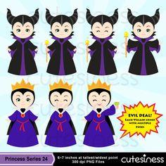 Villain Digital Clipart Maleficent Clipart Evil by Cutesiness