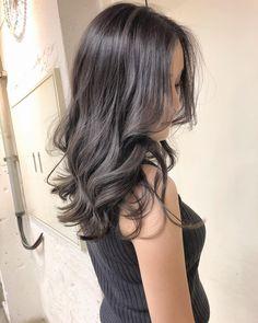 Balayage Long Hair, Ashy Hair, Cool Brown Hair, Ash Brown Hair, Pretty Hair Color, Ombre Hair Color, Permed Hairstyles, Pretty Hairstyles, Ulzzang Hair