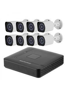 8 Channel Full-HD DVR System