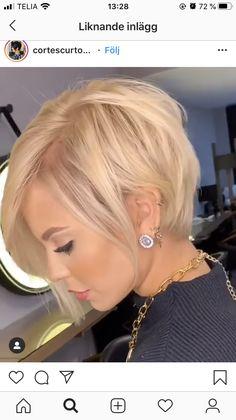 Edgy Short Hair, Short Hair Cuts, Short Hair Styles, World Hair, Pelo Bob, Bob Hairstyles For Fine Hair, Corte Y Color, Hair Affair, Great Hair