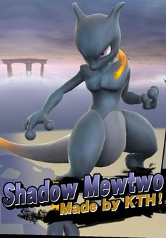 A Super Smash Bros. (Wii U) Skin Mod in the Mewtwo category, submitted by KTH Mew And Mewtwo, Pokemon Mewtwo, Cool Pokemon, Super Smash Bros, All Legendary Pokemon, The Shadow Side, Nintendo, Pokemon Pictures, Wii U