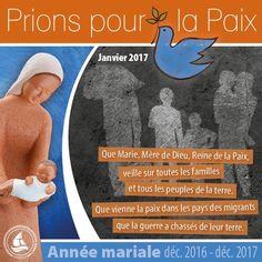 ANNÉE MARIALE : INTENTION DE PRIÈRE DU MOIS DE JANVIER