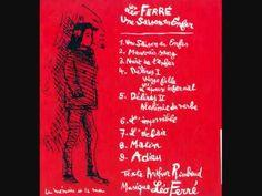 """Léo Ferré """"UNE SAISON EN ENFER"""" d'Arthur Rimbaud"""
