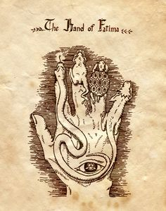"Book of Shadows:  ""The Hand Of Fatima,"" by Charmed-BOS, at deviantART."