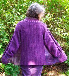 Free Pattern: Scarlow cardigan for women