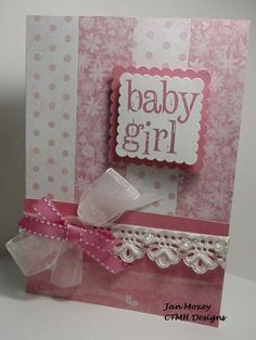 More Than a Little Ink ... Celebrating creativity with Jan Moxey through the paper arts.: Baby Card