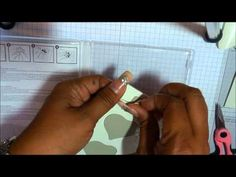 Creating in Faith, Hope and Love...: Video Share Saturday - How I Apply Stampin' Up! Stickers To Cling Foam Stamps