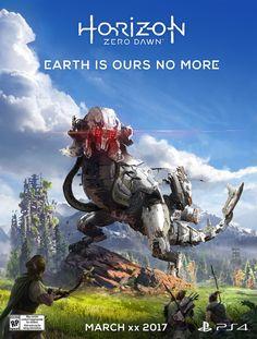 Offizielles Announcement-Poster von Horizon: Zero Dawn
