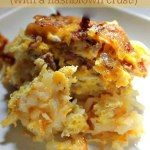http://www.livingfrugalwitherika.com/breakfast-bake-with-a-hashbrown-crust/