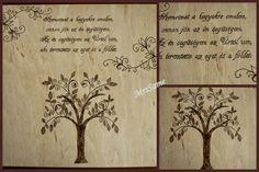 Melinda kézműves kuckója: Idézetes tábla, fa