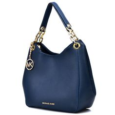 Michael Kors Bedford Large Navy blue Shoulder Bags [SALE-MK007] - CA$65.9 : Michael Kors Canada Online Store - michael kors bags, wallets, sandals, watches and sunglasses cheap sale