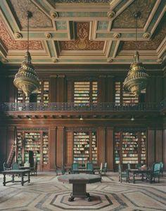 The Library of El Capitolio in Havana, Cuba