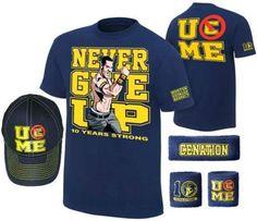 John Cena Ten Years Strong Blue Costume Hat T-shirt Wristbands - http://bestsellerlist.co.uk/john-cena-ten-years-strong-blue-costume-hat-t-shirt-wristbands/