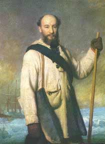 José Alberto de Oliveira Anchieta (1832-1897) was a 19th century Portuguese explorer and naturalist who, between 1866 and 1897, travelled extensively in Portuguese Angola, Africa, collecting animals and plants. These species were sent out to Portugal, where they were later examined by several zoologists and botanists. Achieta died returning from an expedition to Caconda, in 1897, at 66 years of age, probably of malaria.