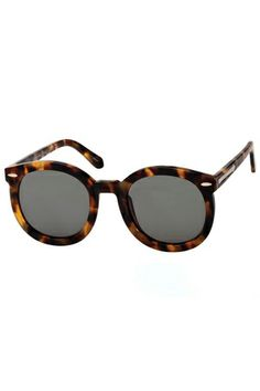 No carry-on is complete without a great pair of sunglasses, and these tortoise shell frames are just right.