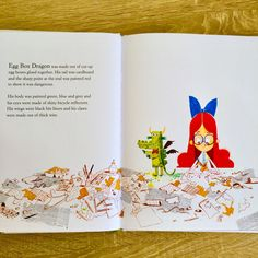 'The Adventures of Egg Box Dragon' - Illustrated by Alex T Smith