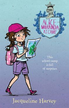 Alice-Miranda at camp by Jacqueline Harvey