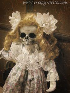 Creepy Gothic Horror Dolls by Artist Bastet2329
