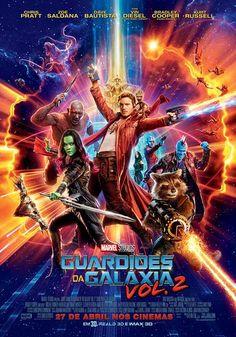 Um filme de James Gunn (II) com Chris Pratt, Zoe Saldana, Dave Bautista, Michael Rooker. Agora já conhecidos como os Guardiões da Galáxia, os guerreiros viajam ao longo do cosmos e lutam para manter sua nova família unida. Enquanto isso te...