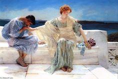 """""""Ask me no more"""", Sir Lawrence Alma Tadema"""