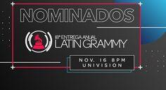 Residente, Maluma y Shakira lideran las nominaciones a la 18ª edición de los Latin Grammy