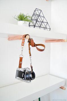 DIY Copper Peg Shelves - Vintage Revivals