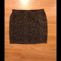 Mini skirt Leopard print mini skirt Skirts Mini