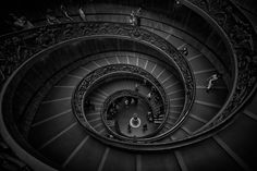 Swirly Stairs by Tomasz Nowicki on 500px