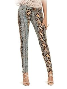 GUESS by Marciano The Skinny No. 61 Jean Autumn Python Print $145 AUTHENTIC- SHIPS FREE ♥ BUY HERE: http://www.beachhippieinc.net/guess-by-marciano-the-skinny-no-61-jean-autumn-python-print/ ♥ INCLUDES NORTON SHOPPING PROTECTION & LOWEST PRICE GUARANTEE!