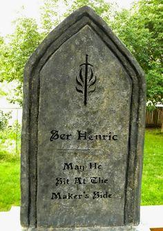 Templar tombstone