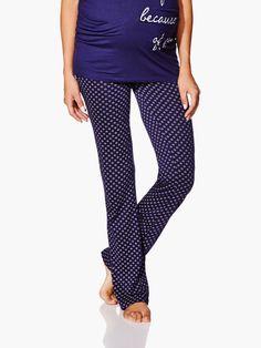 Faites de beaux rêves dans ce confortable pantalon de pyjama de maternité! Vous…