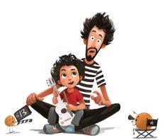 naranjas y zapatos Character Design Cartoon, Character Design References, Character Design Inspiration, Art Et Illustration, Children's Book Illustration, Character Illustration, Character Concept, Character Art, Poses