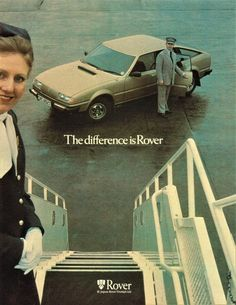 1979 Rover SD1 3500 V8 Old Signs, Retro Cars, Old Cars, Vintage Ads, Motor Car, Jaguar, Cars Motorcycles, Marketing, Classic Cars
