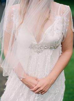 'Frances' wedding gown by Claire Pettibone Couture Bridal - Photo: Ben Lowry Photography