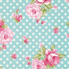 ROSEY By TANYA WHELAN 1 Yard of Fabric Roses by BellatiqueFabrics, $9.50