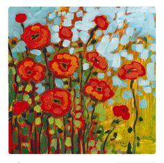 "Poppy Field ""Red Poppy Field"" by Jennifer Lommers. Beautiful poppy flower art from ""Red Poppy Field"" by Jennifer Lommers. Beautiful poppy flower art from Poppy Field Painting, Poppies Painting, Canvas Wall Art, Canvas Prints, Big Canvas, Canvas Size, Painting Prints, Art Prints, Framed Prints"