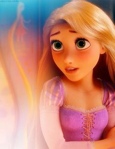 Number Four: Rapunzel! I like how Disney rearranged to story. Rapunzel is the first funny Disney Princess. I like how she is funny and adventures. Disney Princess Rapunzel, Tangled Rapunzel, Disney Tangled, Disney Magic, Disney Art, Tangled 2010, Flynn Rider, Disney Dream, Cute Disney
