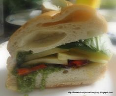 Household Ways: Chicken-Pesto Sandwiches and Feeding A Family with Different Diets